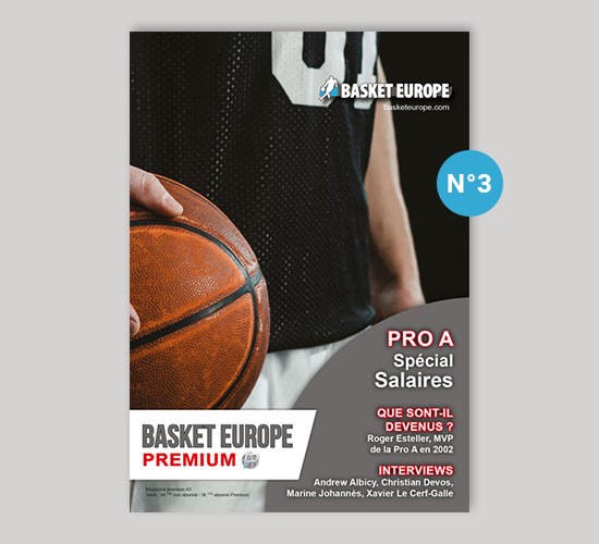 Magazine Basket Europe Premium n°3
