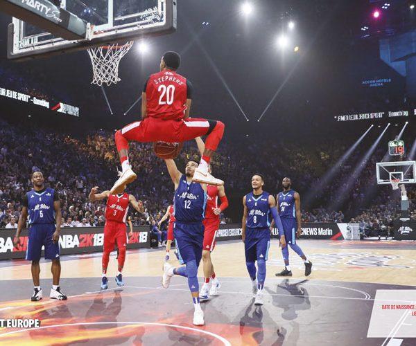 Stephens dunk