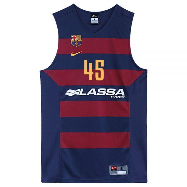 Maillot de basket officiel équipe de Barcelone