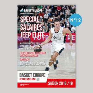 Salaire Jeep Elite - Magazine Basket Europe n°12