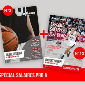 Pack Magazine 3 et 12 Basket Europe