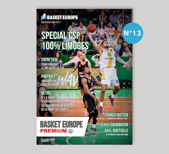 Spécial CSP Limoges - Magazine Basket Europe n°13