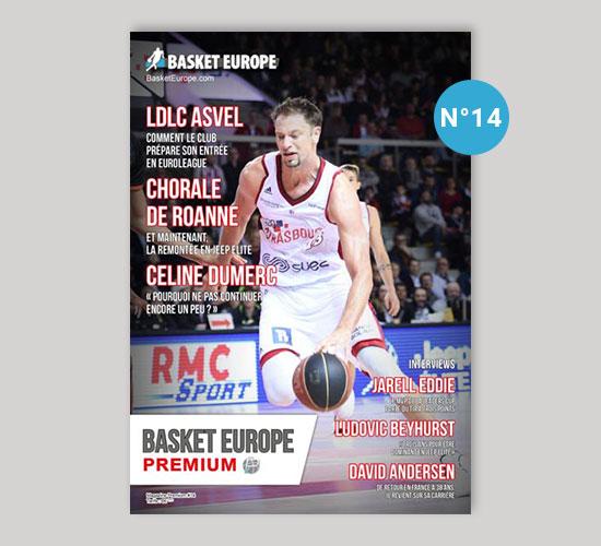 Magazine Basket Europe n°14